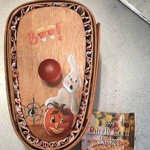 LONGABERGER Candy Corn Basket #14354 -Halloween